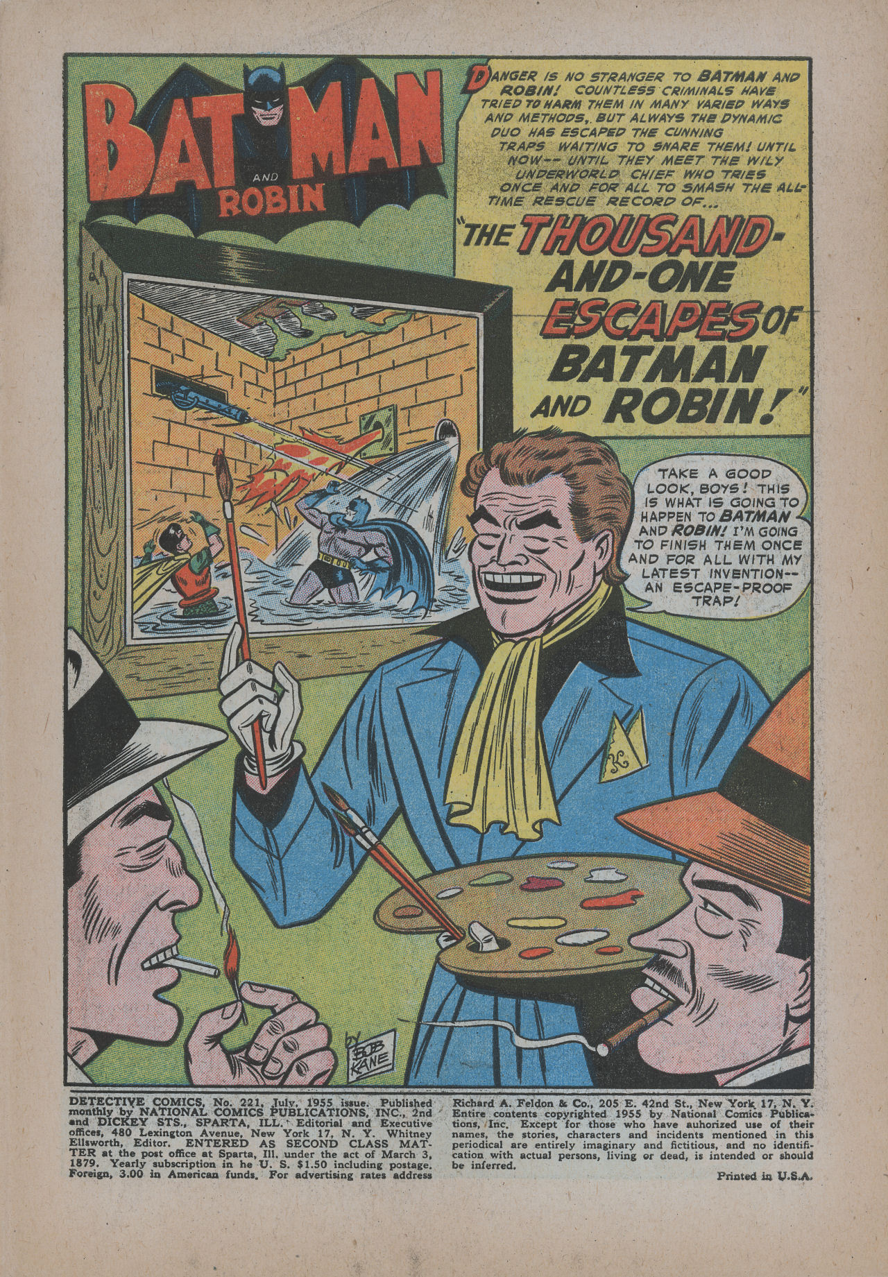 Read online Detective Comics (1937) comic -  Issue #221 - 3