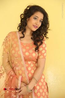Telugu Actress Santoshi Sharma Latest Stills in Salwar Kameez at HBD Movie Teaser Launch  0014.JPG