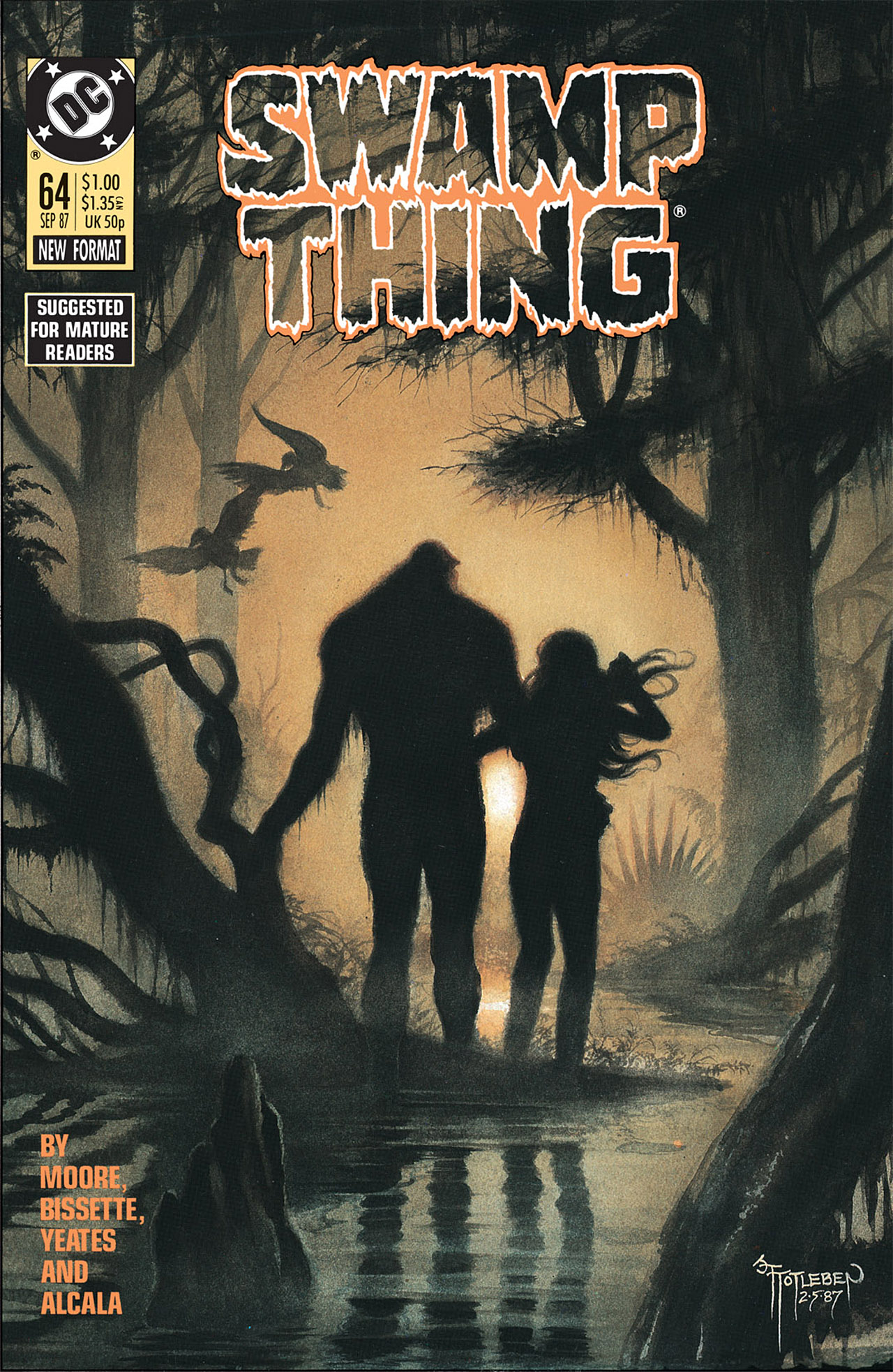 Swamp Thing (1982) Issue #64 #72 - English 1