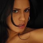 Andrea Rincon, Selena Spice Galeria 19: Buso Blanco y Jean Negro, Estilo Rapero Foto 153