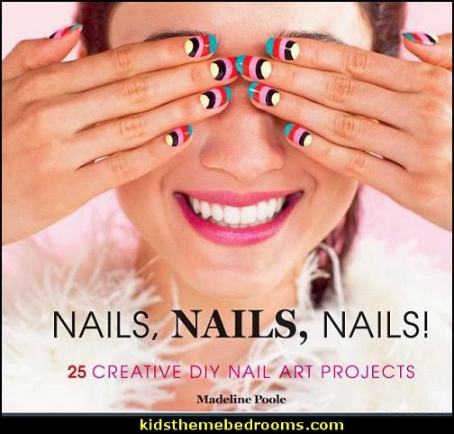 Nails, Nails, Nails!: 25 Creative DIY Nail Art Projects  - nail art design ideas