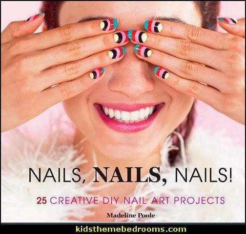 Nails, Nails, Nails!: 25 Creative DIY Nail Art Projects  - nail art design ideas