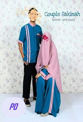 Gamis Syar I Couple Sekeluarga
