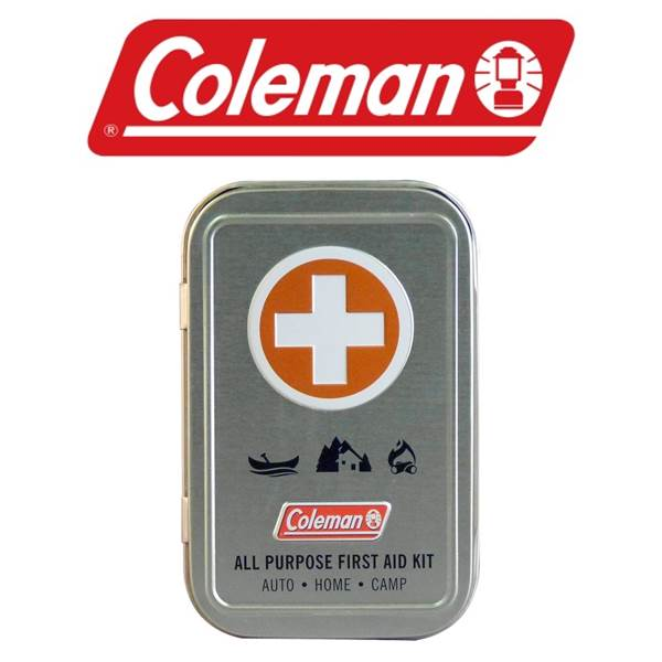Coleman All Purpose First Aid Tin (27 Pieces)