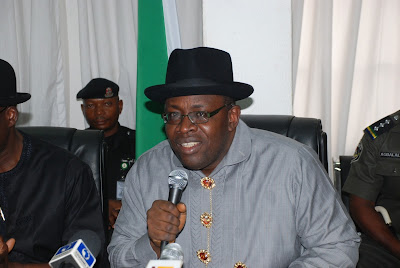 Bayelsa State governor, Henry Seriake Dickson