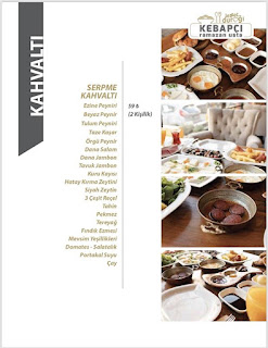 nira gurme batıkent kahvaltı menu fiyat