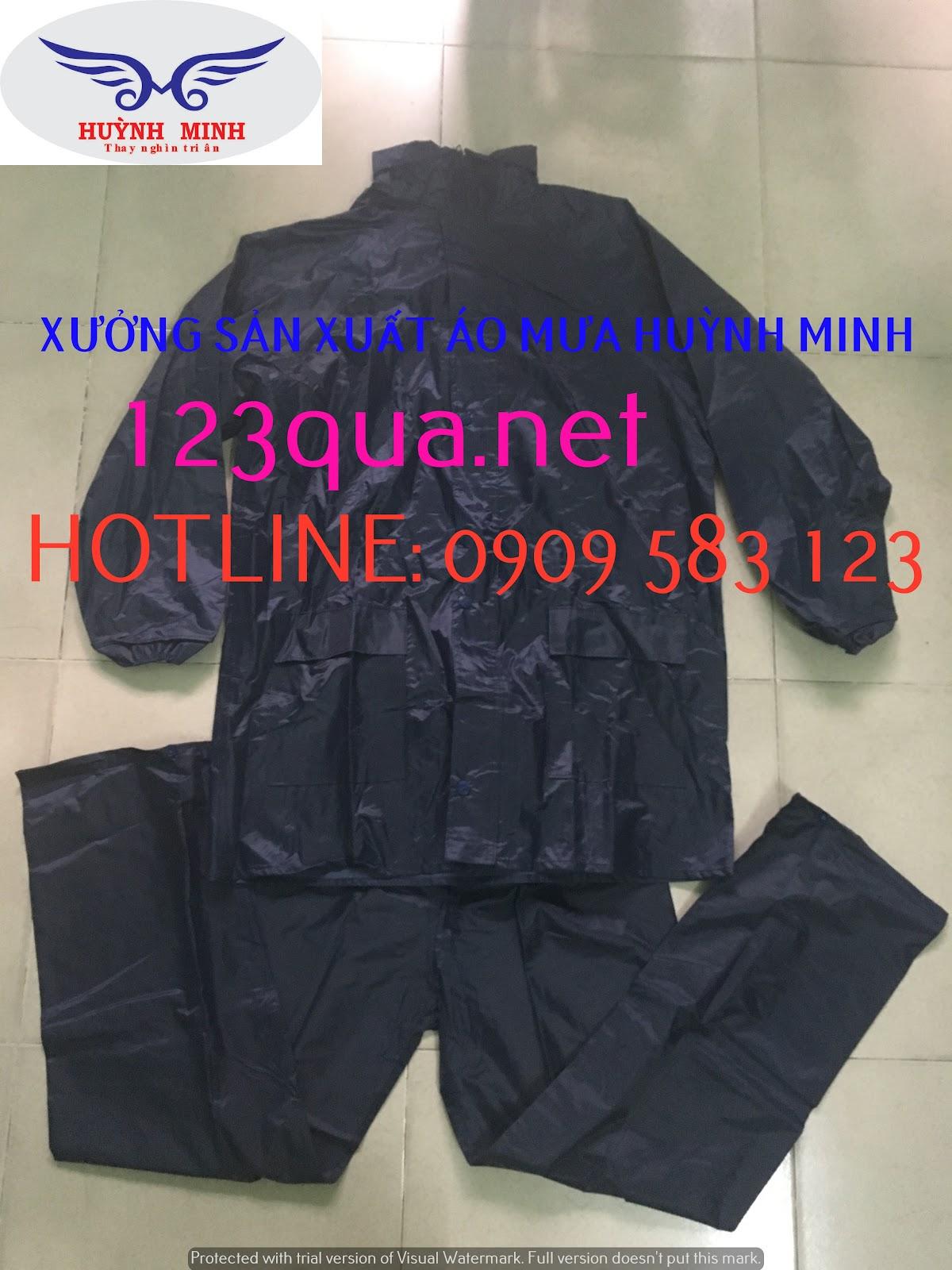 Cơ sở sản xuất Áo Mưa Quảng Cáo, áo mưa bộ, áo mưa cánh dơi, áo mưa trẻ em chất lượng, giá tốt