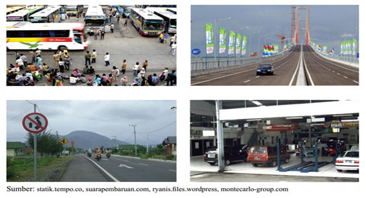 Pengaruh Lokasi Terhadap Transportasi Darat