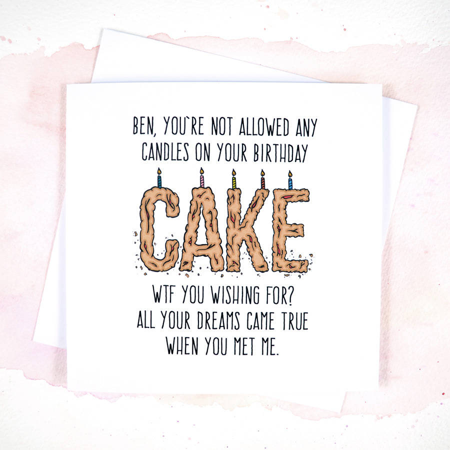 Funny Birthday Cards And Messages