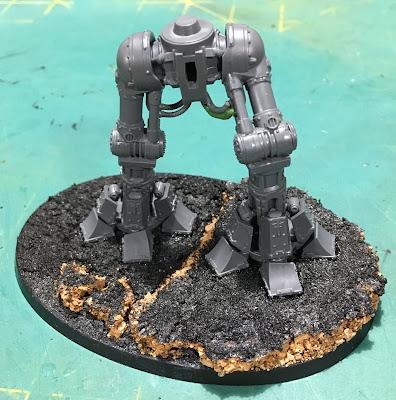 Titanicus WIP Reaver Titan Base