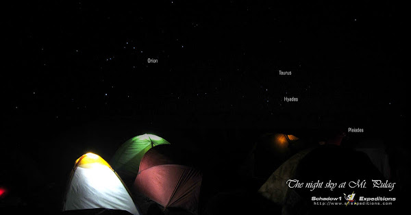 Mt Pulag Night Sky at Camp 2 - Schadow1 Expeditions
