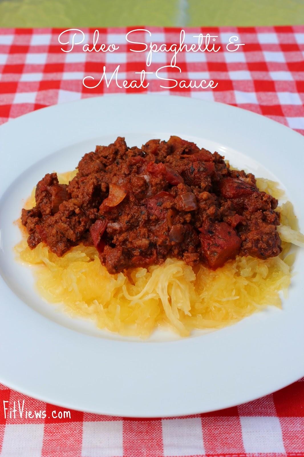 Paleo Spaghetti Recipe