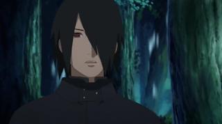 Penampipan sasuke di serial Boruto