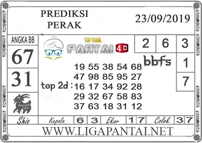 """PREDIKSI TOGEL """"PERAK"""" PANTAI4D 23 SEPTEMBER 2019"""