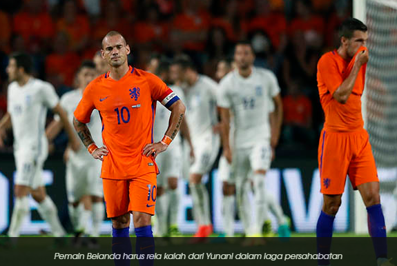 Jelang Kualifikasi Piala Dunia 2018, Belanda Tidak Berdaya Lawan Yunani