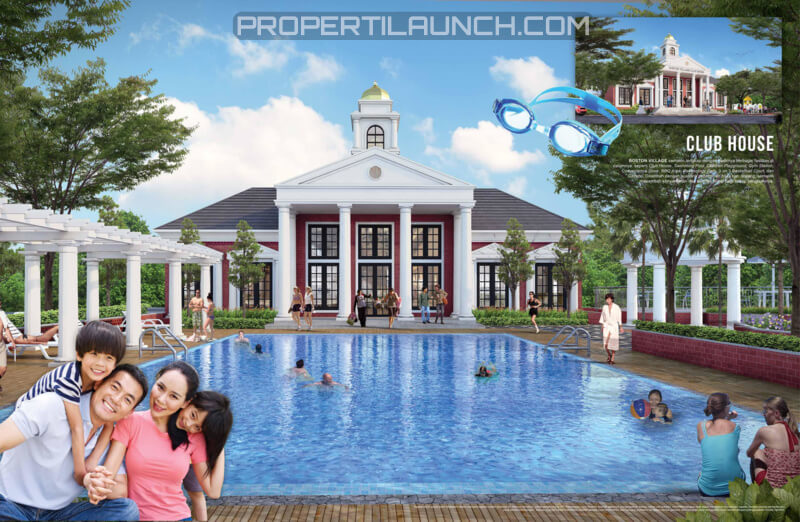 Club House Boston Village Serpong