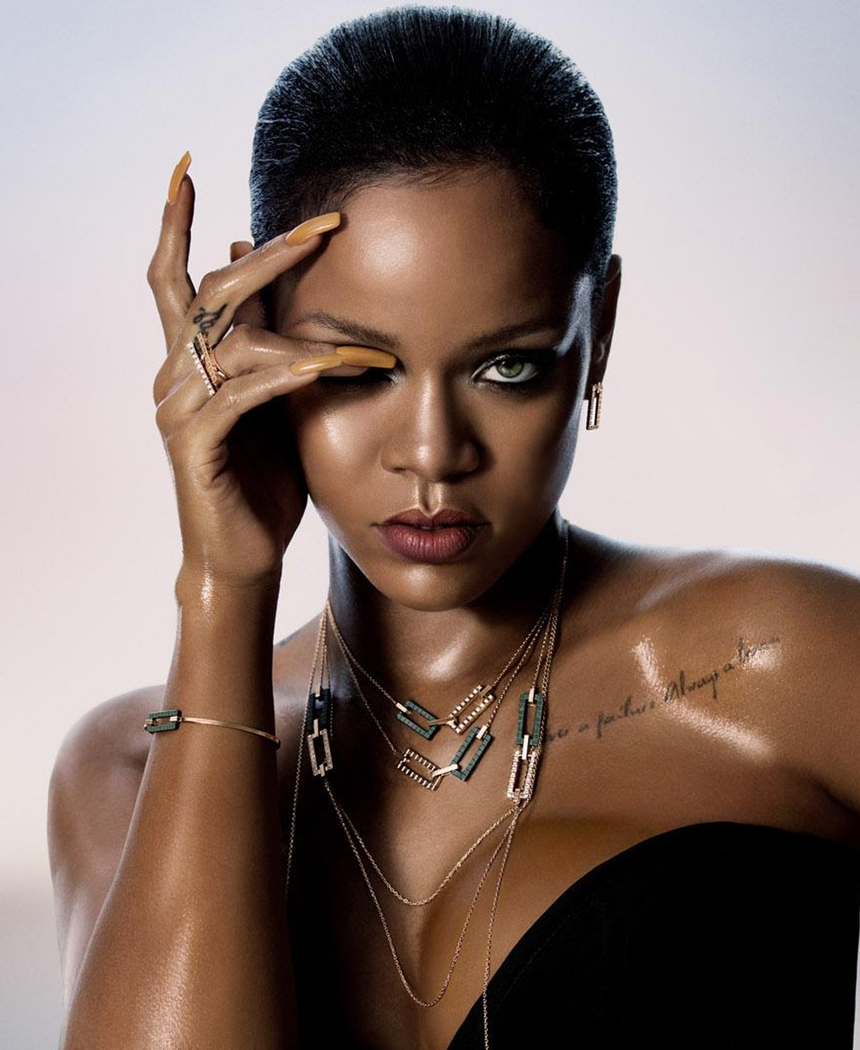 LOOKandLOVEwithLOLO: Rihanna Chopard Exclusive Collaboration Rihanna