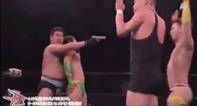 VIDEO: Wrestling has gotten weird... This is a must Watch