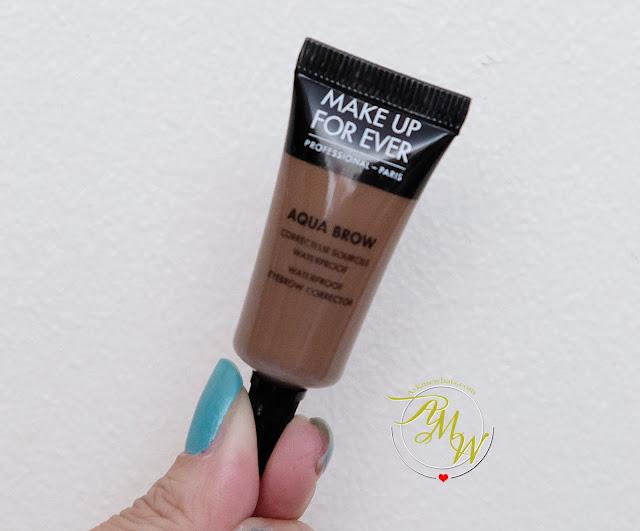 a photo of Make Up For Ever Aqua Brow Review by Nikki Tiu