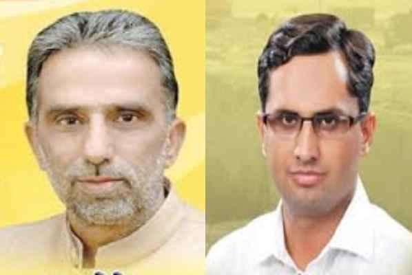 minister-krishan-pal-gurjar-and-devender-chaudhary-sewerage-system-naharpar