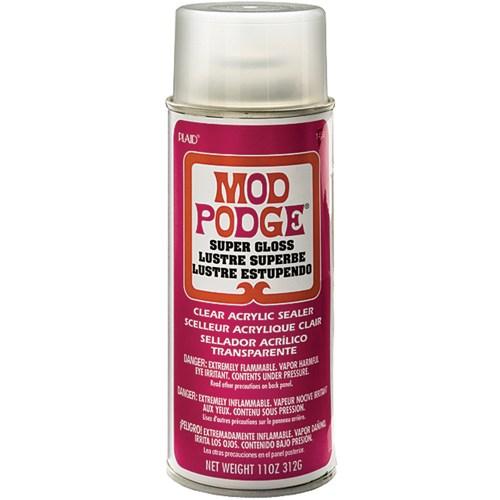 Is Mod Podge clear acrylic sealer waterproof