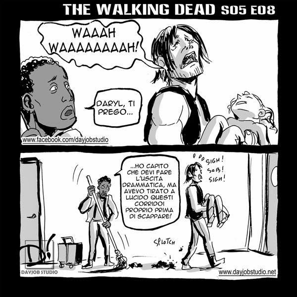 The Walking Dead 5x08 ( Dayjob Studio)