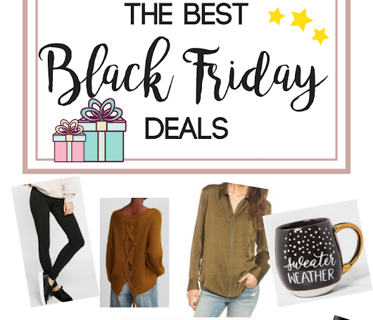 The Best Fashion + Beauty Black Friday Deals TODAY!