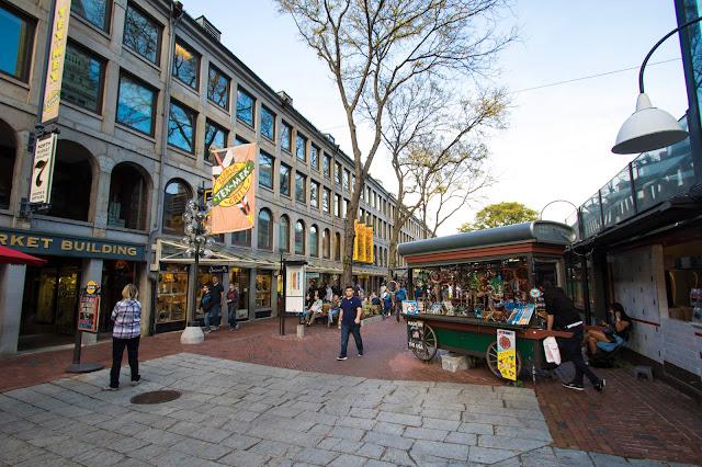 Zona dei mercati-Boston