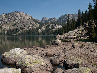 Russell Lake, Beaten Path, Beartooth Mountains, Montana