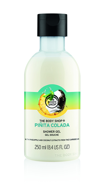 The Body Shop new Pinita Colada Collection Shower Gel