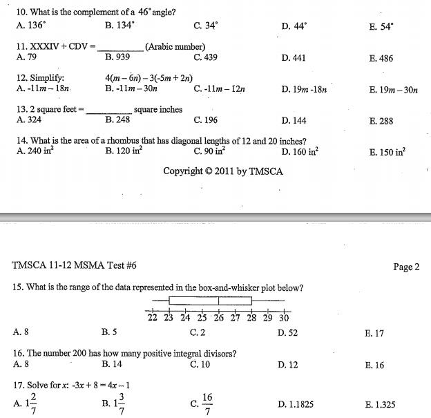 Contest Math 2014-2015: 2015 on symmetric box plot, modified box plot, line plot, make box whisker plot, 2d box plot, parts of a story plot, interpret box plot, range box plot,