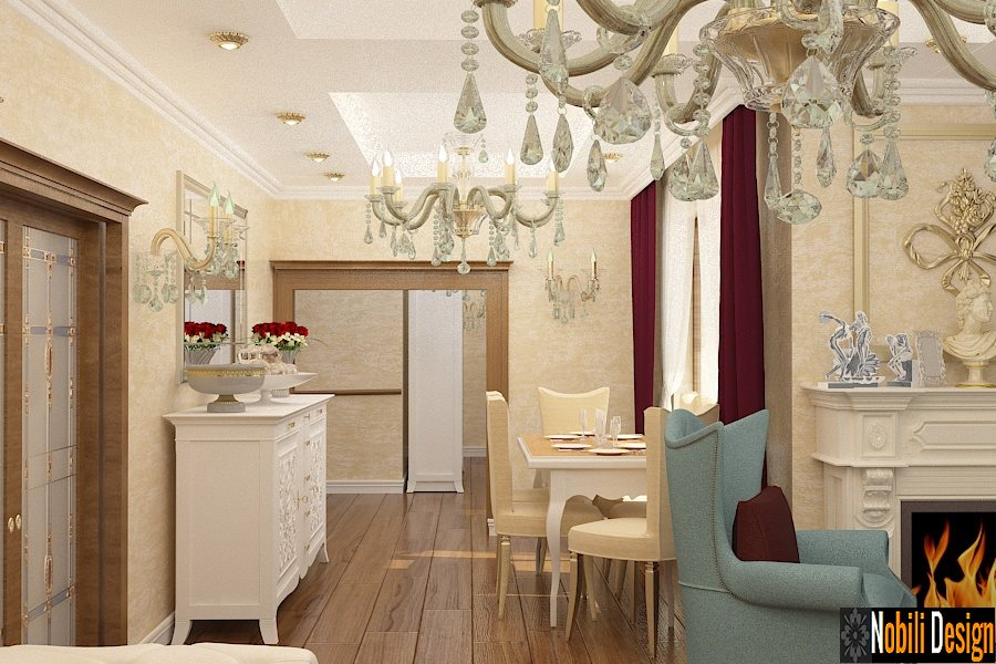 design interior, design interior Bucuresti, design interior clasic, design interior living, proiect, case, stil clasic, living, dormitor, preturi, vile,