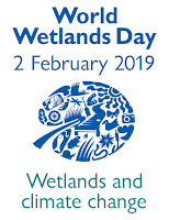 World Wetlands Day logo.