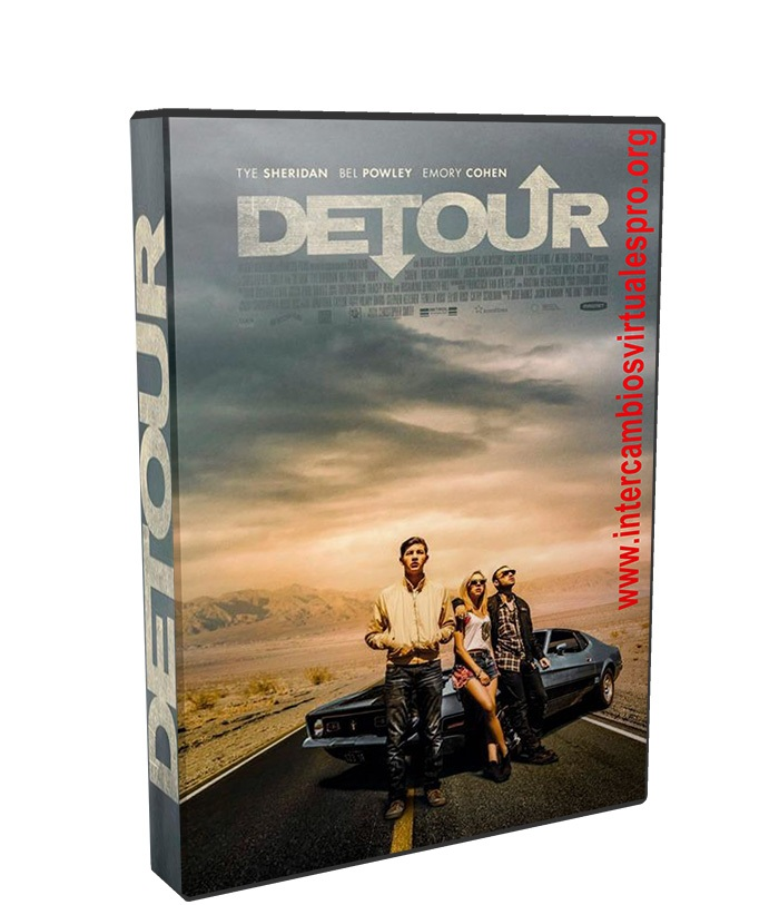 Detour poster box cover
