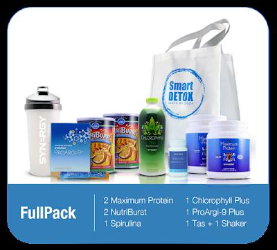 Harga Paket Smart Detox Full Pack