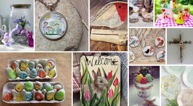 Ιδέες - Χειροποίητες Κατασκευές για Πασχαλινά Bazaar