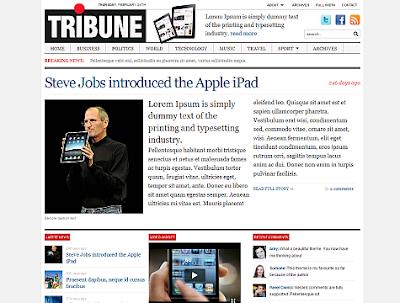 Tribune Wordpress Theme