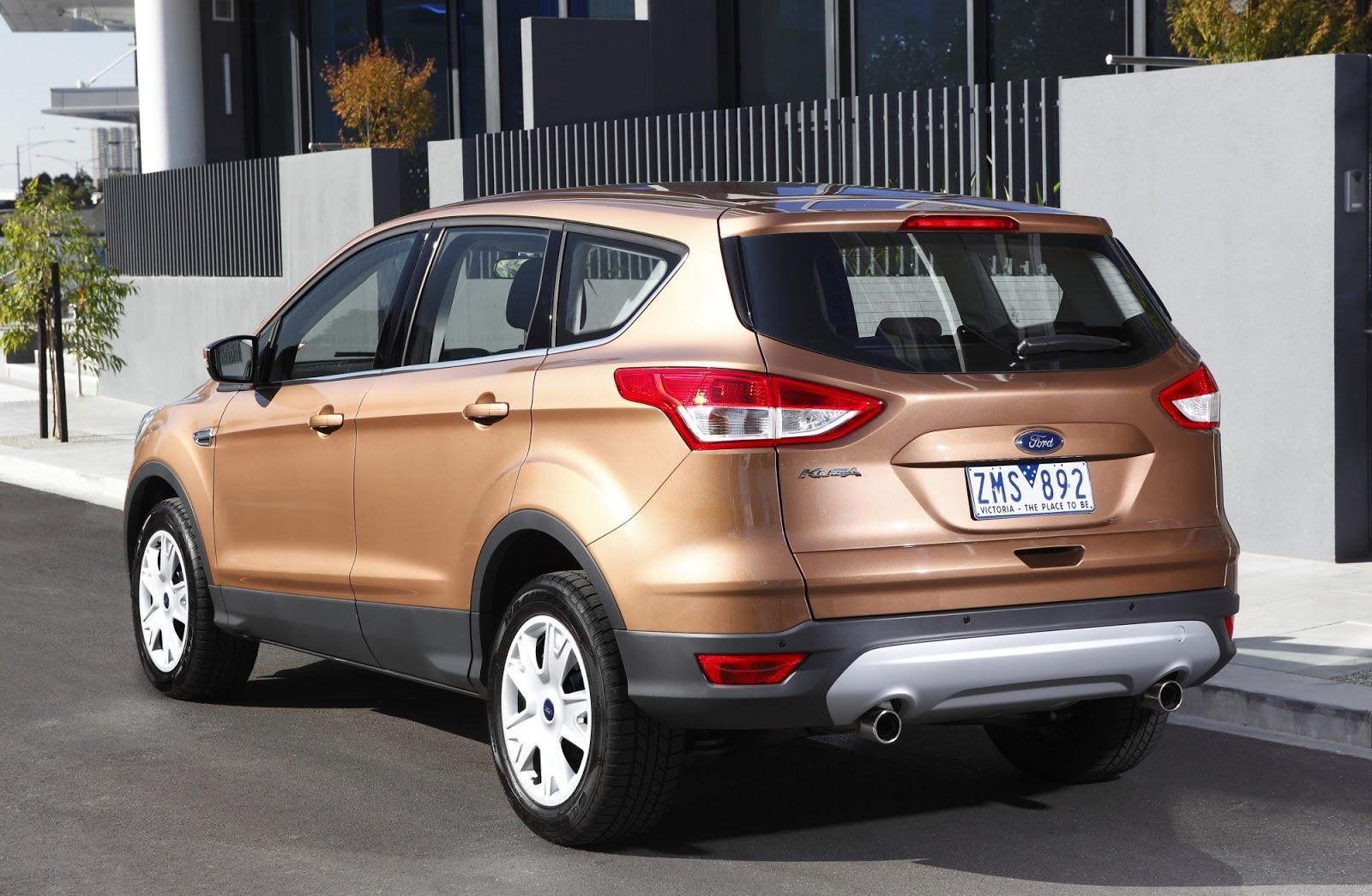 Ford Escape Ecoboost >> Lançamento Ford KUGA 2014