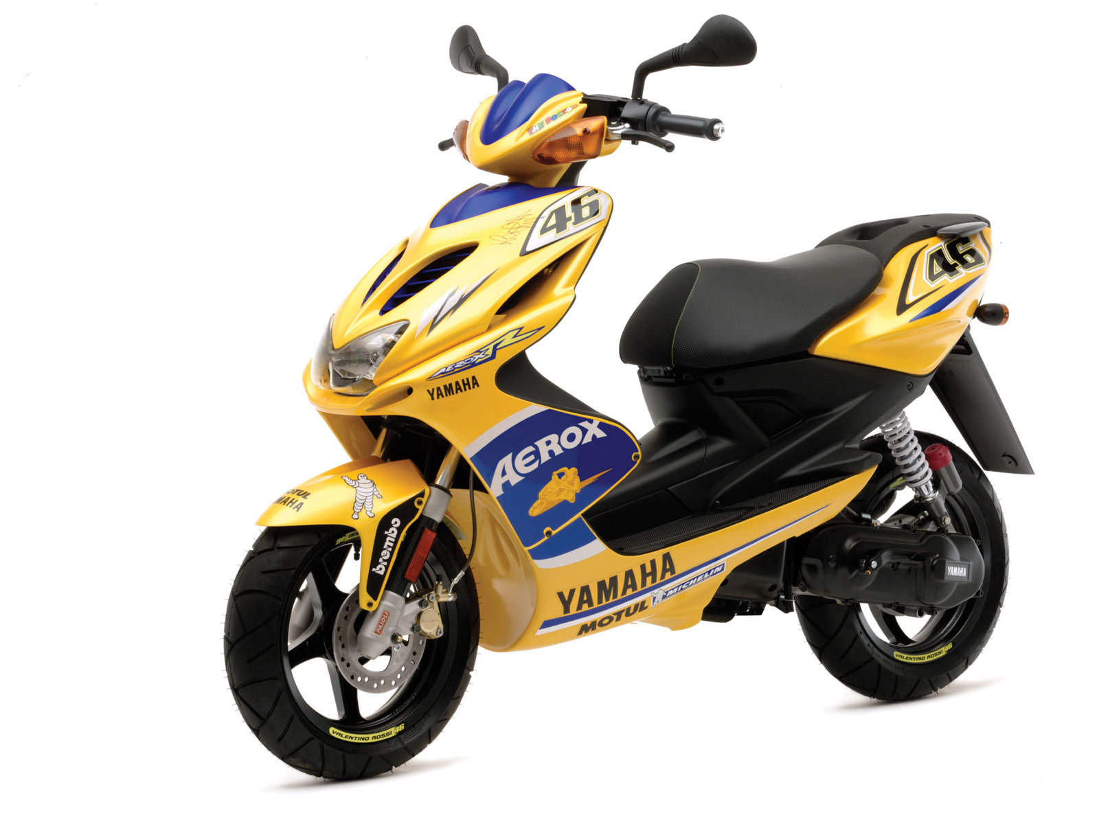 YAMAHA scooter pictures. 2008 Aerox R Race Replica