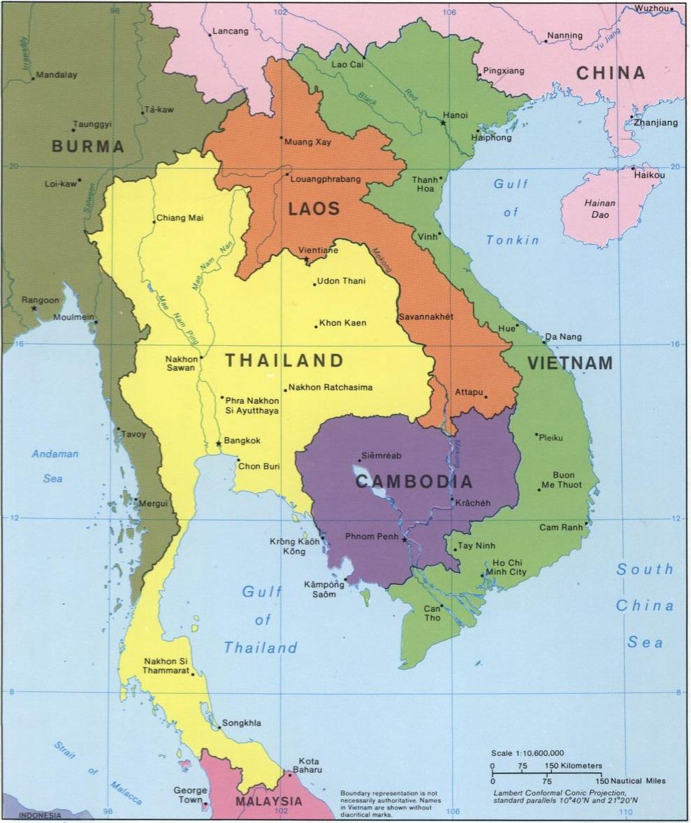 Map Of China And Southeast Asia.Anthropology Of Accord Map On Monday Southeast Asia