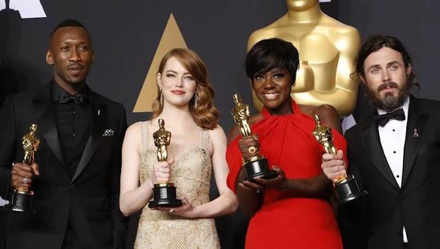 القائمة النهائية الفائزة بجوائز الأوسكار #Oscars 2017