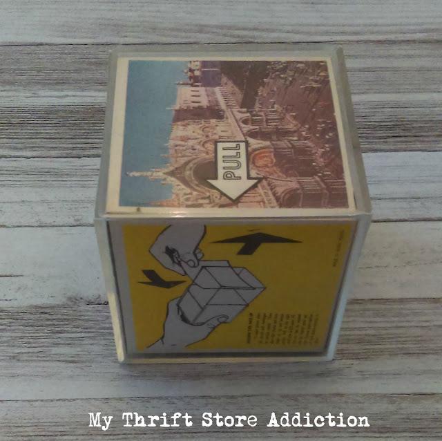 retro photo cube