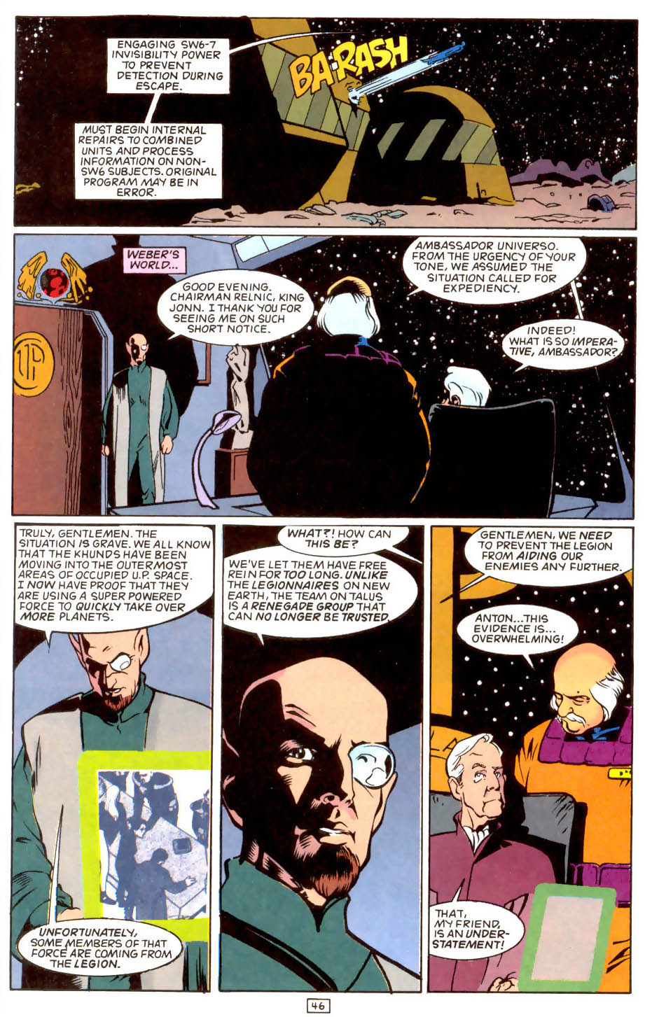 Legion of Super-Heroes (1989) 50 Page 46
