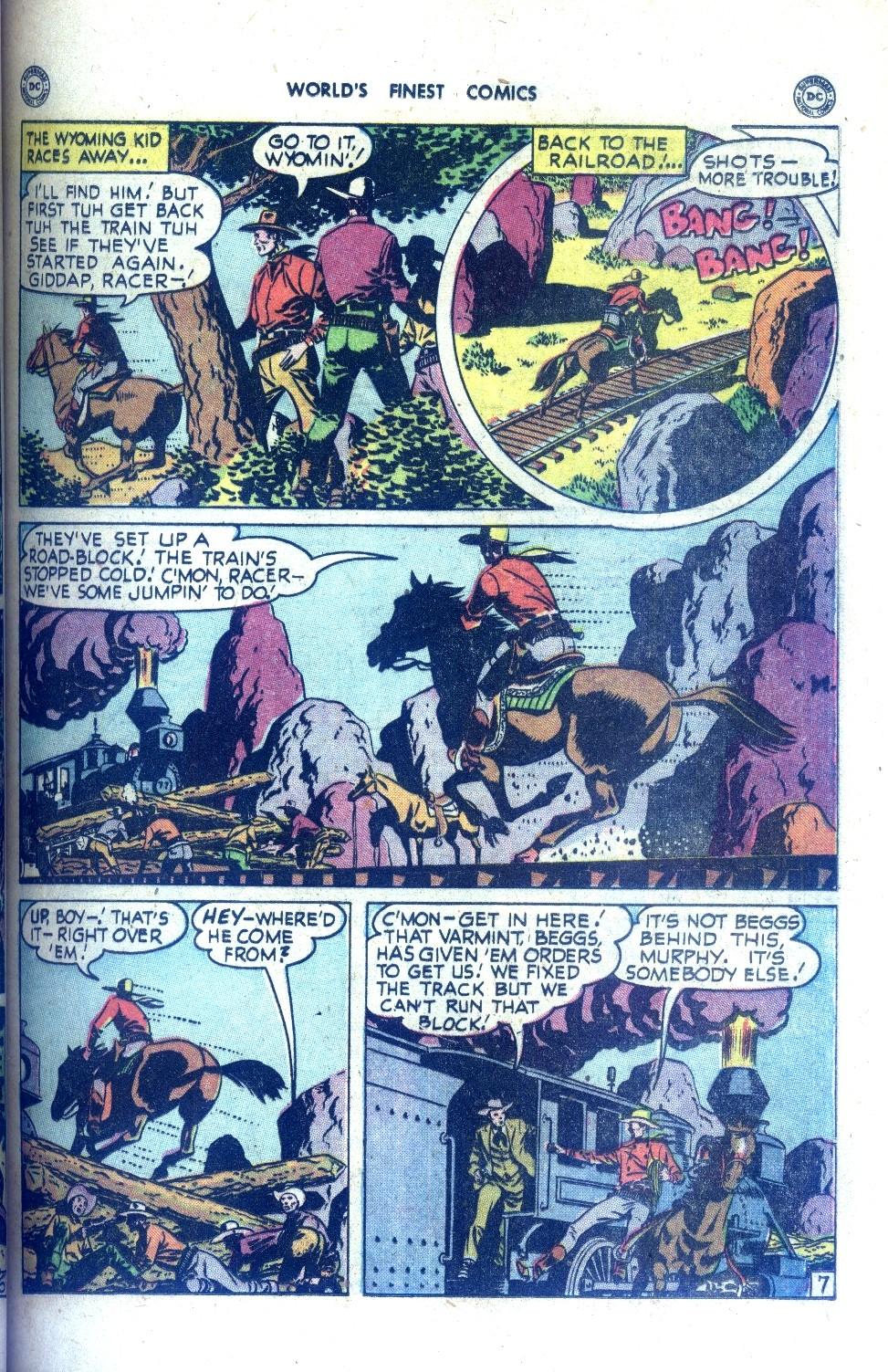 Read online World's Finest Comics comic -  Issue #43 - 23