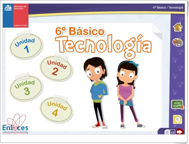 """""""Libro digital de Tecnología de 6º de Primaria"""" (Ciencias Naturales de Primaria)"""