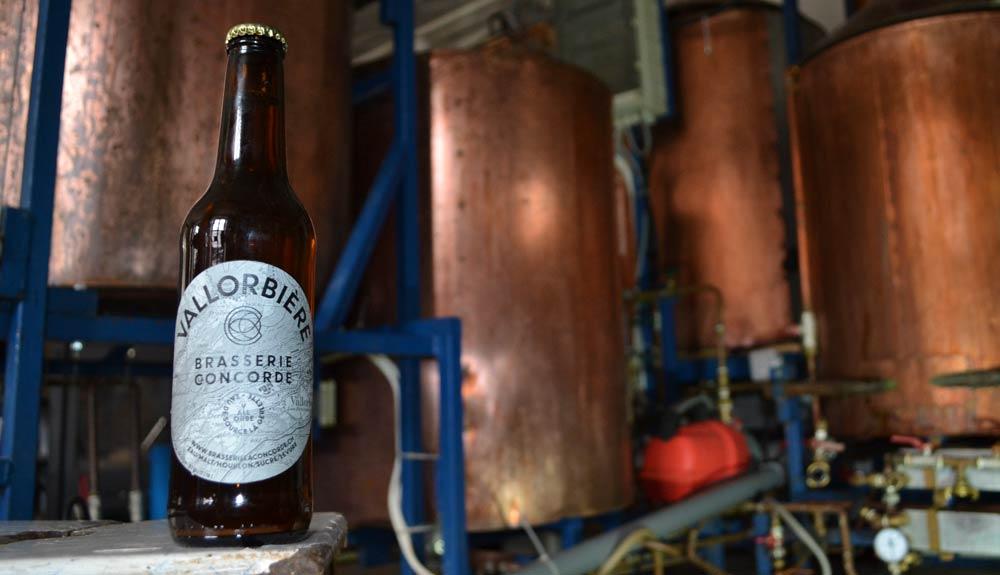 Biobier La Concorde: Flashe und Brauerei