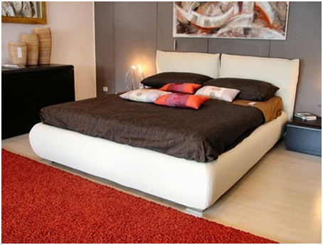 UPHOLSTERED BEDS WHITE - MODERN BEDROOMS - TAPESTRY FOR DORMS