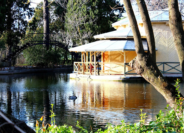 Parque del Capricho. Jardines del Capricho de la Alameda de Osuna. Madrid