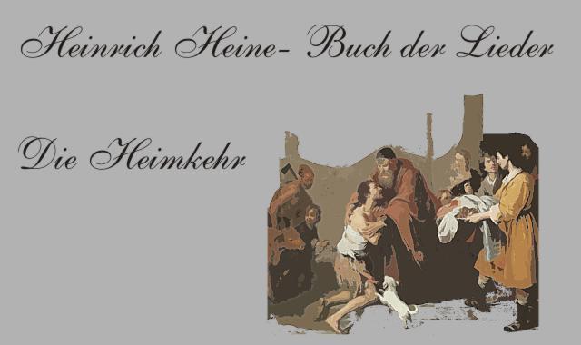 Gedichte Und Zitate Fur Alle Heinrich Heine Buch Der Lieder Die