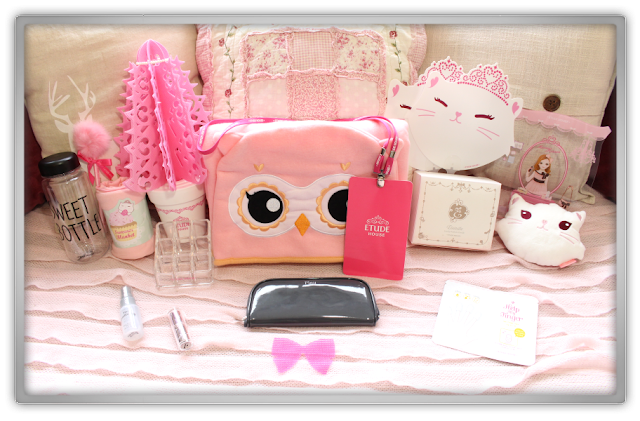 Etude House Haul Review Accessories Decor Kawaii Cute Pink Ebay Beauty Korean Cosmetics Dreaming Etti Princess